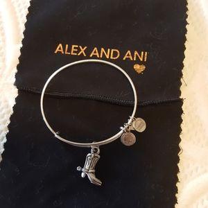 Alex and Ani Cowboy boot